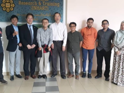 Visit by Dr. Hiroshi from Social and Wealth Edutainment Laboratory Sdn. Bhd.