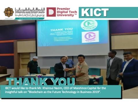 Thank You Mr. Khairoul Nazim, CEO of Maishince Capital.
