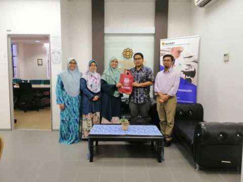 A visit from Universitas Mataram Lombok NTB Indonesia