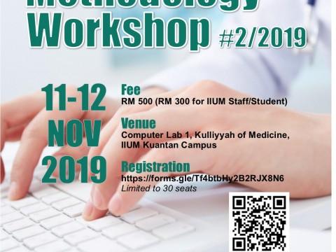 Research Methodology Workshop No.2/2019
