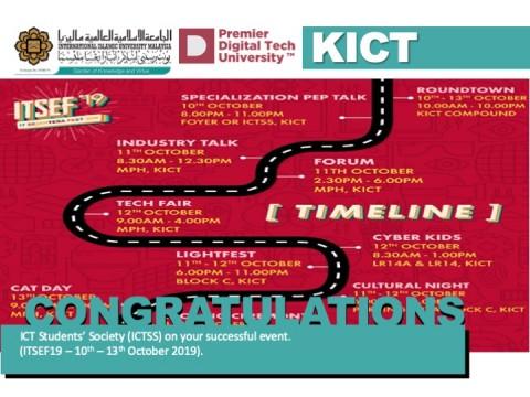 Congratulations ICT Students' Society