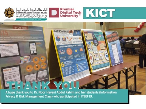 Thank You to Dr. Noor Hayani and Her Students.