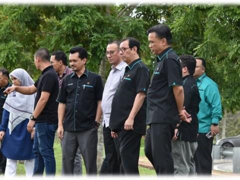 IIUM Honorable Rector visit to CFS Gambang