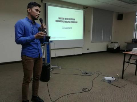 Talk on Industry in Classroom at Universiti Malaysia Terengganu