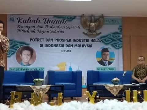 Keynote Speaker at  Kuliah Umum 'Potret dan Prospek Industri Halal di Indonesia dan Malaysia'