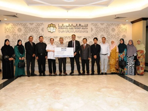Mock Cheque Presentation by Noor Bank PJSC