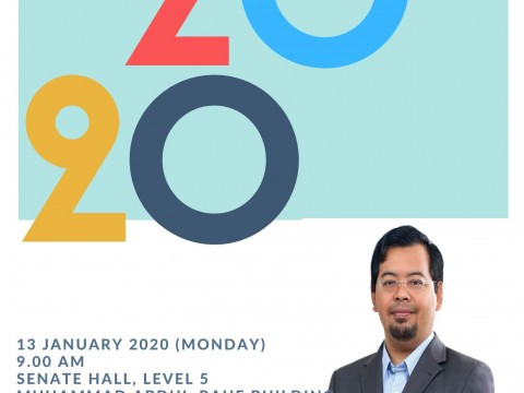 NEW YEAR ADDRESS BY DEPUTY RECTOR (STUDENT DEVELOPMENT AND COMMUNITY ENGAGEMENT)