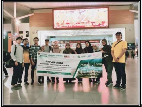 IIUM Pagoh Mobility Program: KLM Representative in Japan-Asia Exchange Program in Science Program 2020