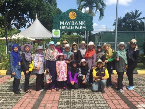 Maybank Awareness Program on Urban Farming by OIL, IIUM