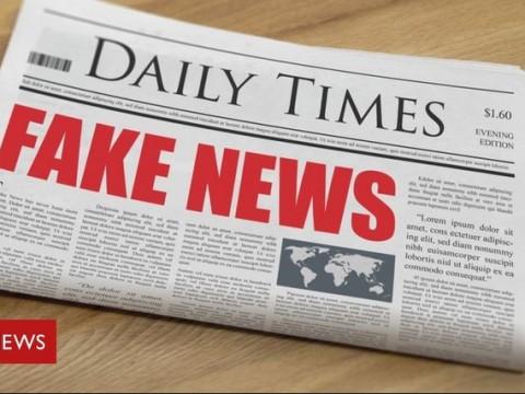 Say no to FAKE NEWS