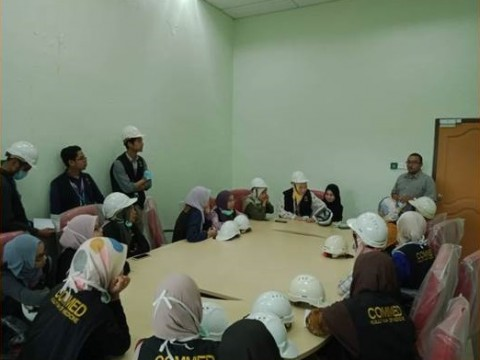 A Visit from Student Kulliyyah of Medicine to Schedule Waste Store