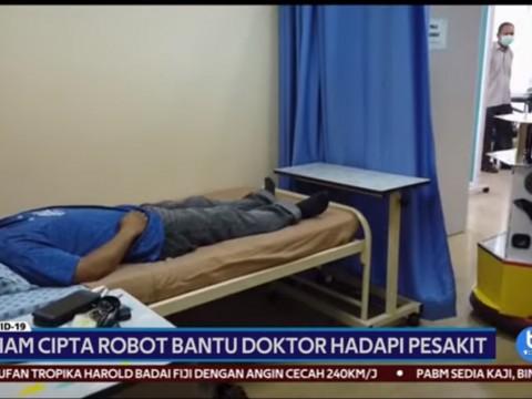 UIAM cipta robot bantu doktor hadapi pesakit