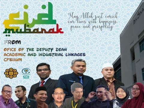 Eidul Fitri Greeting from ODDAIL CFS