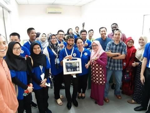 EEG demo to SBPI Gombak students @pcbdgiium lab