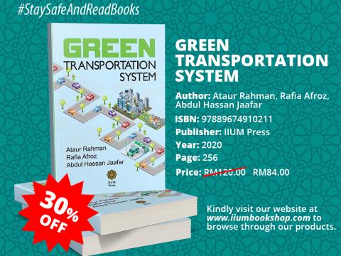 OFFER!!! : GREEN TRANSPORTATION SYSTEM