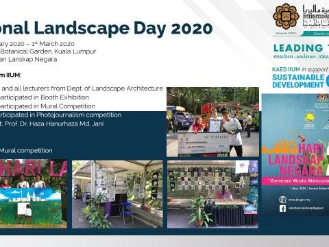 National Landscape Day 2020