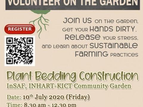 Volunteer on the Garden
