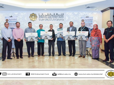 SOFT LAUNCHING ENDOWMENT (WAQF) FUNDING FOR WADI BUDI BUILDING
