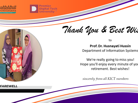 Thank You Prof. Dr. Husnayati Hussin