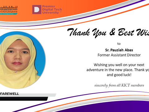 Thank You Prof. Sister Pauziah Abas