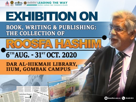 Launching and Exhibition on Book, Writing & Publishing: The Collection of Roosfa Hashim