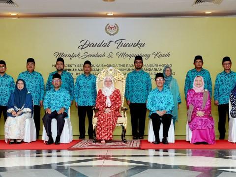 Raja Permaisuri Agong grants audience to IIUM top management
