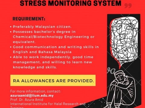 Research Assistant Vacancy