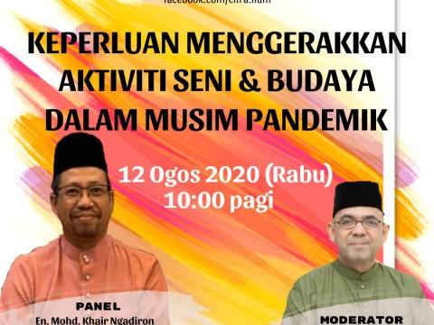 CiTRA BUDAYA : Facebook Live! with En.Mohd Khair Ngadiron