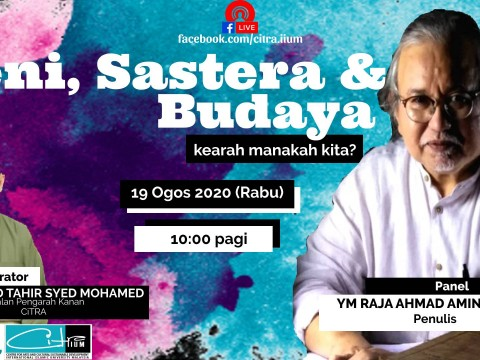 CiTRA's Facebook Live! with YM Raja Ahmad Aminullah