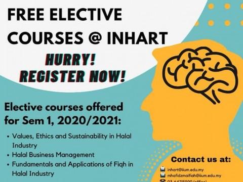 Elective Courses @ INHART