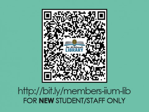 IIUM LIBRARY :: Library Membership - Online Application