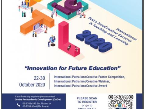 International Putra InnoCreative Carnival in Teaching & Learning 2020 (PicTL 2020), UPM