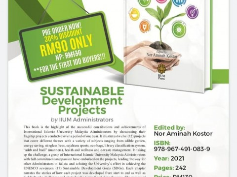SUSTAINABLE DEVELOPMENT PROJECTS BY IIUM ADMINISTRATORS