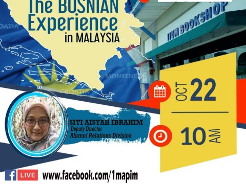 Live Book Talk : Humanising Education: The Bosnian Experience in Malaysia