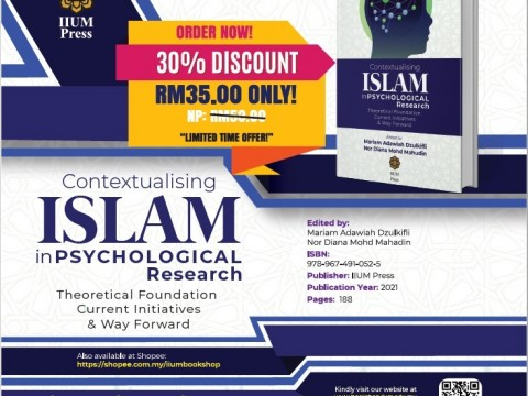 OPEN FOR PRE-ORDER : Contextualising ISLAM in Psychological Research