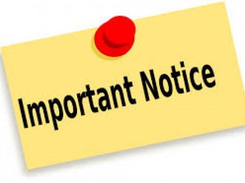 NOTICE ON CONFIRMATION OF COURSE REGISTRATION SLIP SEMESTER 2, 2020/2021