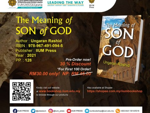 OPEN FOR PRE-ORDER: The Meaning of SON of GOD
