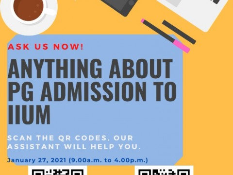 IIUM POSTAGRADUATE ADMISSION E-ASSIST