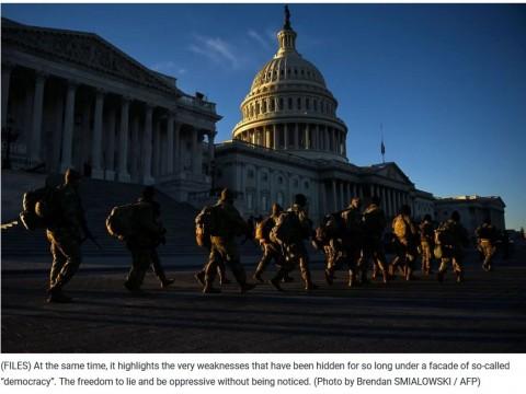 Fragility of U.S. democracy