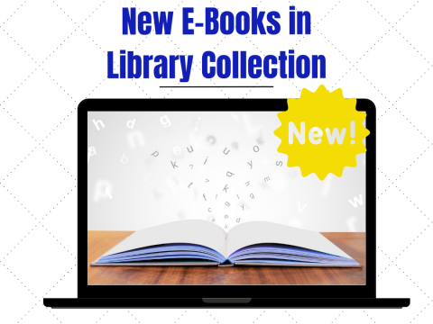 New E-Books in Library Collection