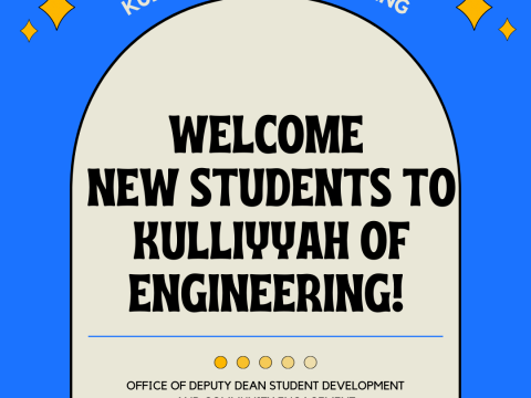 Welcome New Students to Kulliyyah of Engineering!