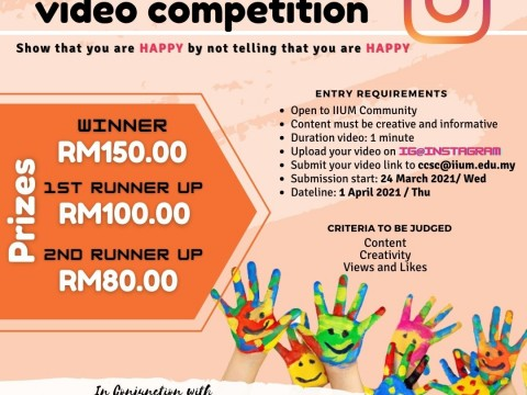 CCSC IG@Instagram Video Competition