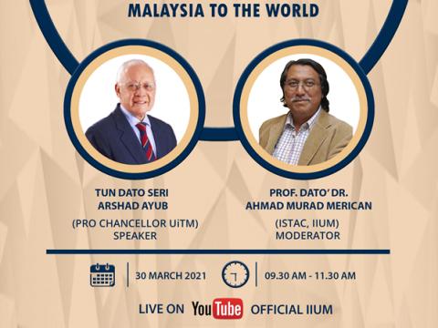 Murabbi Talk Series with YBhg. Tun Dato' Sri Arshad Ayub
