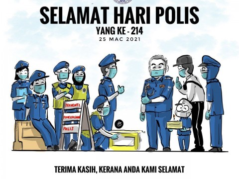 Happy 214th Police Day