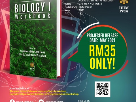 PROJECTED RELEASE IN MAY: BIOLOGY 1 WORKBOOK