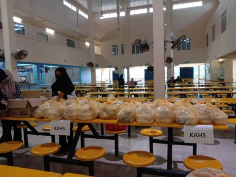 IFTAR FOR NEEDY STUDENTS DURING RAMADHAN