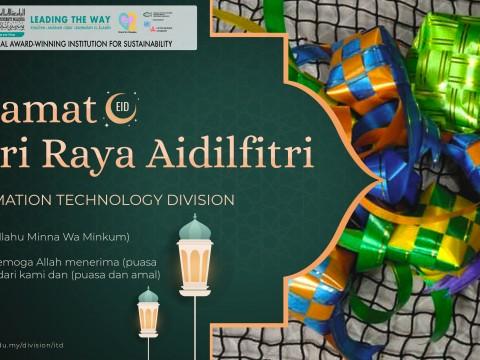 Happy Eid-ul-Fitr 1442H/2021