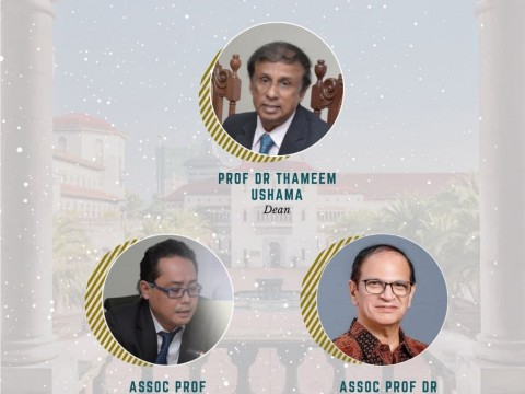 THANK YOU TO FORMER OFFICE BEARERS OF ISTAC-IIUM
