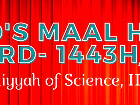 VOTING FOR FoRSD's MAAL HIJRAH AWARD - 1443H/2021