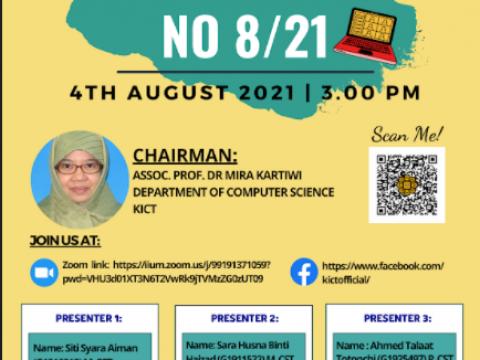 PG Seminar No 8/21